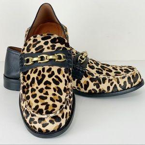 Coach Putnam Genuine Calf Hair Convertible Loafers